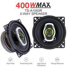 2pcs 10cm 4 Inch 400W 2 Way Car Coaxial Auto Audio Music Ste