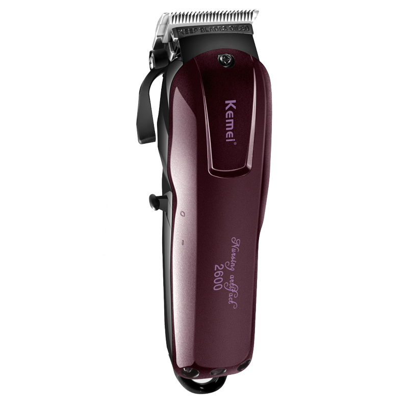 Kemei <font><b>Electric</b></font> Washable <font><b>Hair</b></font> Clipper Rechargeable <font><b>Professional</b></font> <font><b>Hair</b></font> <font><b>Trimmer</b></font> Shaver Razor beard Clipper KM-2600 Dropshipping