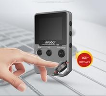 2016 a estrenar mrobo c5 8g de alta definición de audio sin pérdidas de alta fidelidad reproductor de música portátil mini sport mp3/grabación envío gratis