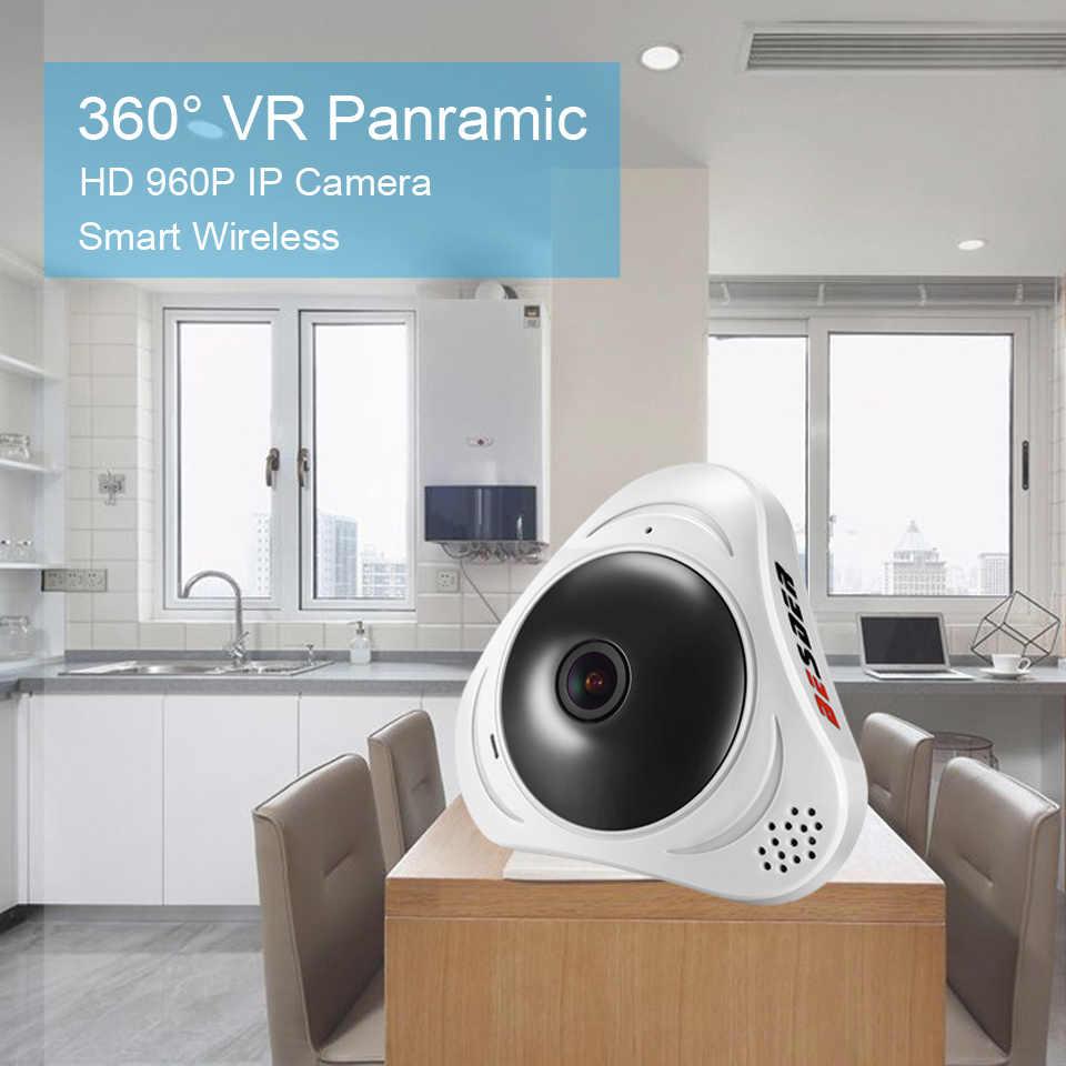 BESDER HD 960 P камера VR WiFi 360 3D панорамный двухсторонний аудио ip-камера рыбий глаз 1.3MP Беспроводная умная камера TF карта слот 10 м
