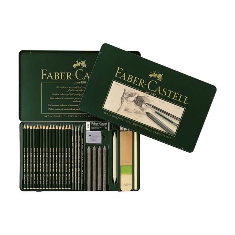 Gribouiller gribouiller stylo Faber Castell 25 pièce assemblé artiste dessin crayon ensemble 112966