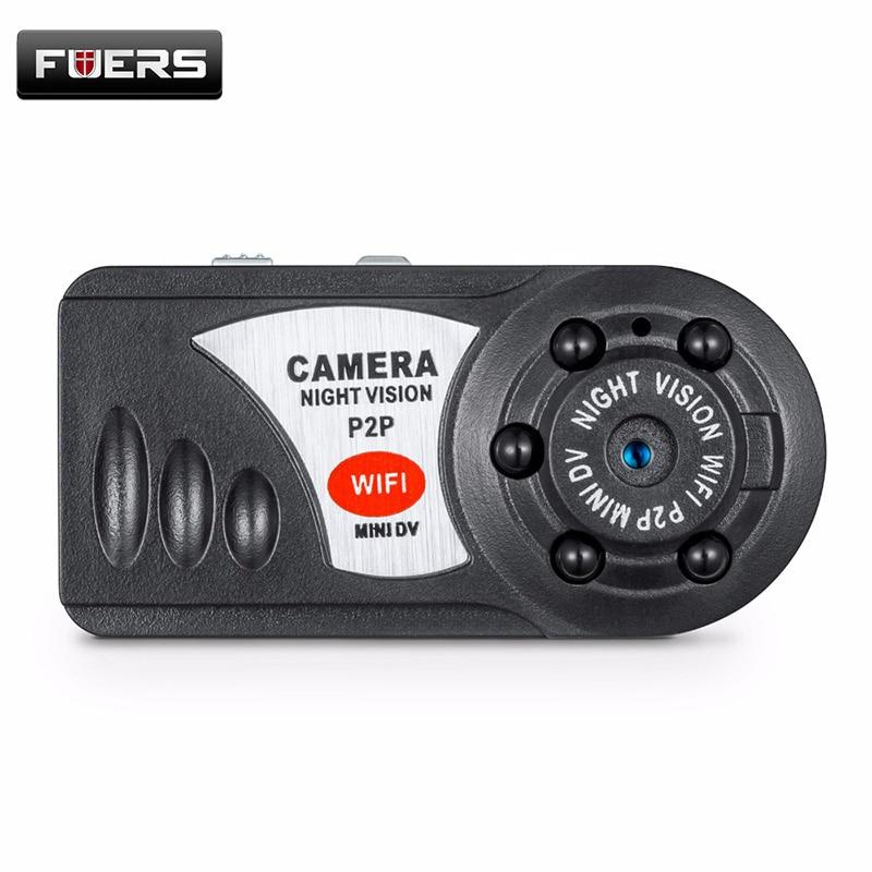 Q7 Mini Wifi DVR 720 P Sans Fil IP Caméscope Vidéo Enregistreur Caméra Infrarouge de Vision Nocturne Caméra