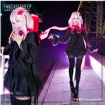Guilty Crown Yuzuriha Inori cosplay costume Fancy Costume
