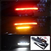 LED Turn Signal Stop Brake License Plate Warning Signal LED Lights Integrated Turn Tail Light for 2014 2017 BMW R Nine T 15 16