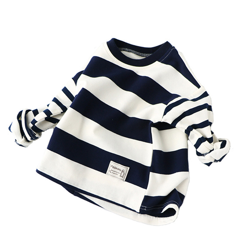 Spring Autumn Children T-shirts for Boys Girls Long Sleeve Striped T shirts Casual Boys Clothes for 2-7Y BC102Spring Autumn Children T-shirts for Boys Girls Long Sleeve Striped T shirts Casual Boys Clothes for 2-7Y BC102