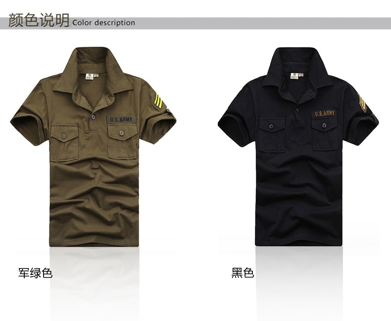 2016 New Style Mens Brand Shirts Army Green Black Short Sleeve Men Outdoor Camp Hiking Cotton Dress Shirts Camisa M-3XL (13)