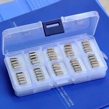 50PCS 10Values Crystal Resonators Assorted Kit, For MCU