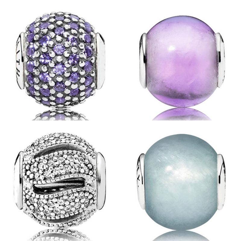 91e91890f Faith & Loyalty With Cubic Zirconia Bead Fit Pandora Essence COLLECTION  Bracelet Bangle 925 Sterling Silver