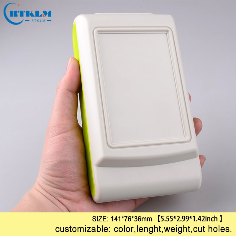 Electronics circuit project handheld plastic enclosure wire connection box abs plastic junction box diy design box