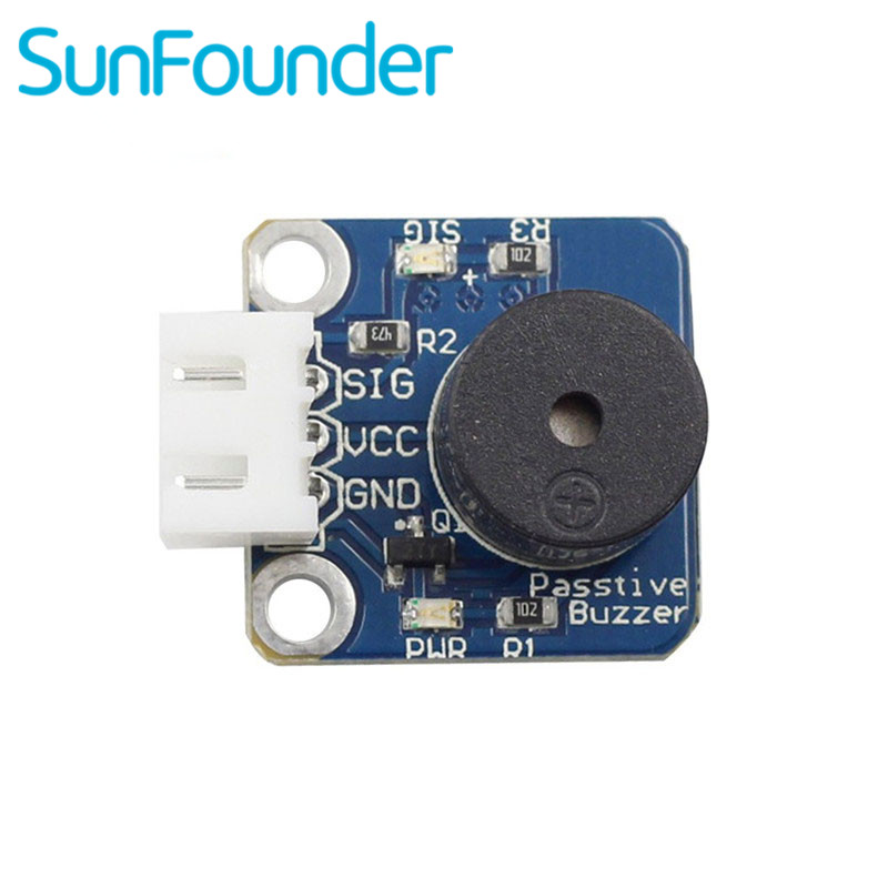 SunFounder Passive Buzzer Module for Arduino with 3-Pin Anti-reverse CableSunFounder Passive Buzzer Module for Arduino with 3-Pin Anti-reverse Cable