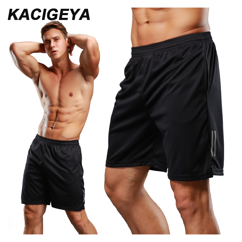 New Running Shorts Mens Summer Plus Size XS-3XL Compression Quick Dry Mesh Fitness Sport Shorts With Pocket Workout Basketball