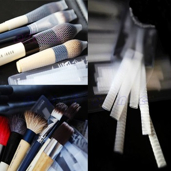 Wholesale 50PCS Make Up Cosmetic Brushes Guards Mesh Protectors Cover
