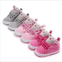 New Baby Shoes First Walkers Infant Cartoon Casual Shoes Sof
