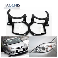 Taochis Car Styling Frame Adapter Module Set DIY Bracket Holder For Mazda 5 2008 2010 Hella