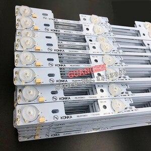Image 2 - New 100Pieces LED backlight bar for KONKA KDL39SS662U 35018339 35018340 327mm 4 LEDs( 1 LED 6V)