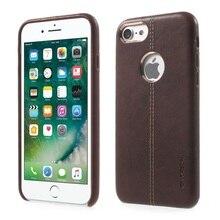 VORSON для iPhone 7 Роскошный Кожаный PU Покрытием ПК Защитная Крышка Чехол