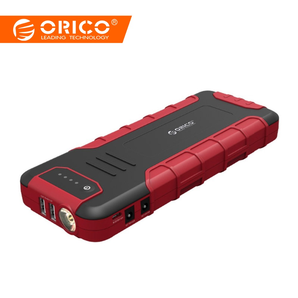 ORICO CS3 18000 mAh Power Bank Multi-funktion Tragbare Mobile QC3.0 Batterie Fahrzeug Motor Booster Notfall Power Bank