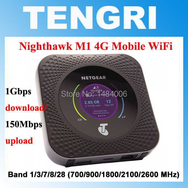 US $163 0 |Unlocked Netgear Nighthawk M1 4GX Gigabit LTE Mobile Router Dual  Band 2 4GHZ/5GHZ Wireless Wifi Router PK B315 B525 E5186-in 3G Modems from
