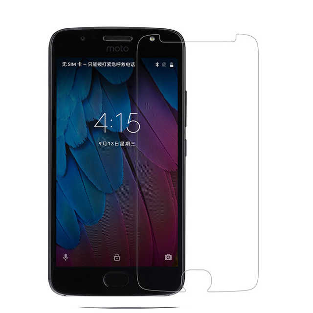 2Pcs  For Motorola Moto G5S Plus Tempered Glass Screen Protector Cover Film On G 5S G5 S G5SPlus Xt1803 Xt1605