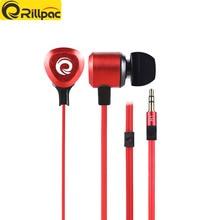 Rillpac R1 в ухо музыке стерео наушники тяжелый бас звук Шум вкладыши тяжелый бас наушники для мобильного телефона