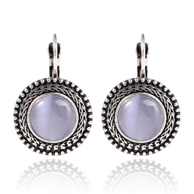 Silver Bohemian Long Earrings