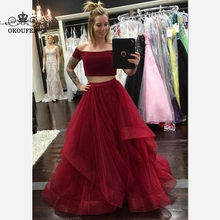 418cc51f3bd Luxury Silver Sequins Beads Long Bridesmaid Dresses Purple Chiffon 2018 One  Shoulder African A Line Prom Dress Party Gowns