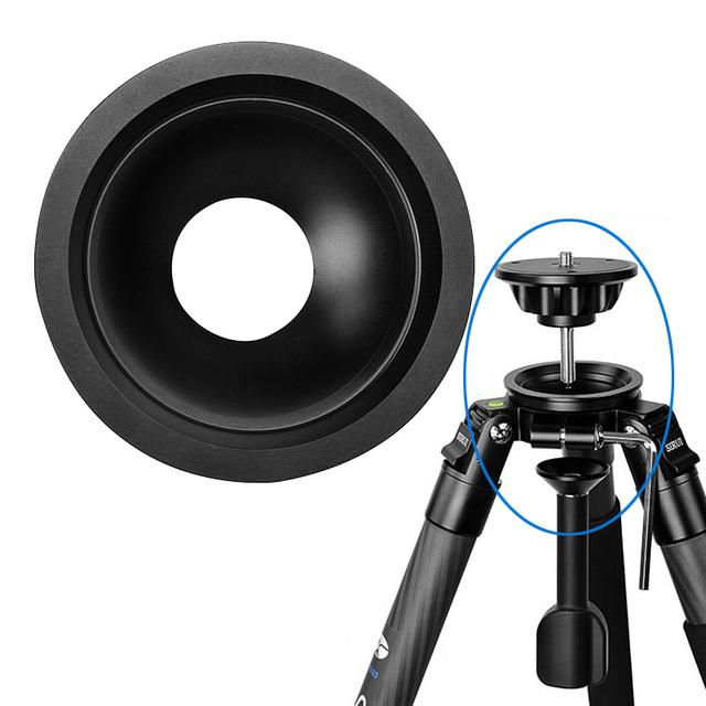 DHL Frete Grátis Vídeo Tripé Sirui Y75A Dluminum Bola Universal Tigela Tigela Bola 75mm de Diâmetro Para O Tripé de Câmera Fotográfica