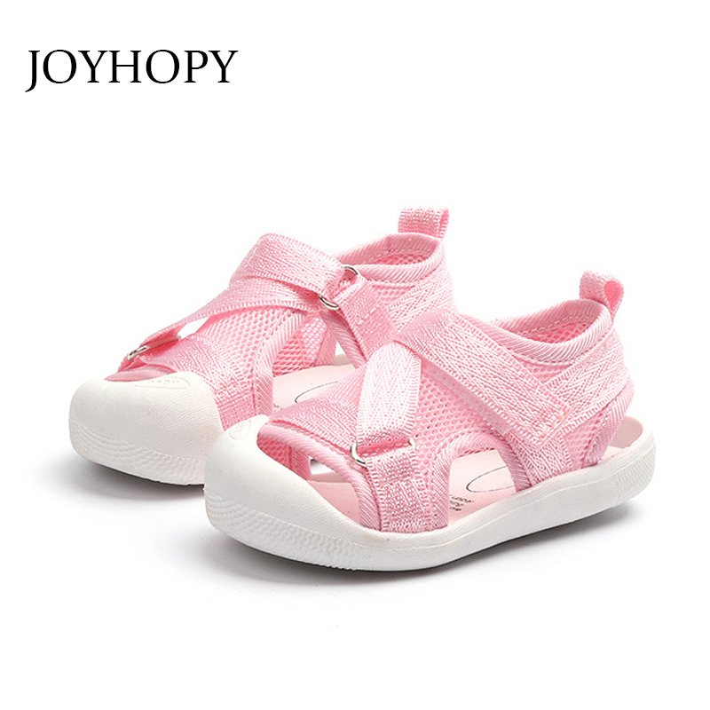 2018 Summer Fashion Children Sandals Baby Boys And Girls Sports Shoes High Quality Breathable Mesh Soft Bottom Shoe size 21-30 ...