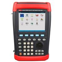 UNI T UT285A three phase power quality analyzer, hand held power analyzer(EU plug)Digital power analyzer Power Energy Meter