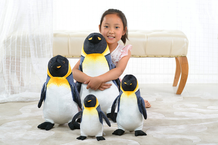 new creative plush penguin toy high quality penguin doll gift ...