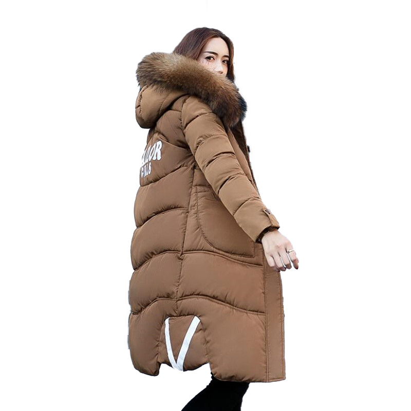 winter coat women High quality cotton clothes in the long fashion trendy fashion, winter new body coat winter jacket women