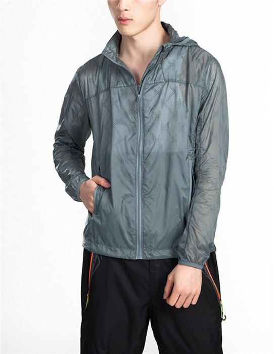 HOT Summer Spring Mens Ultra Thin Hiking Jacket Super Light Coat Fishing Hunting Clothes chaqueta hombre