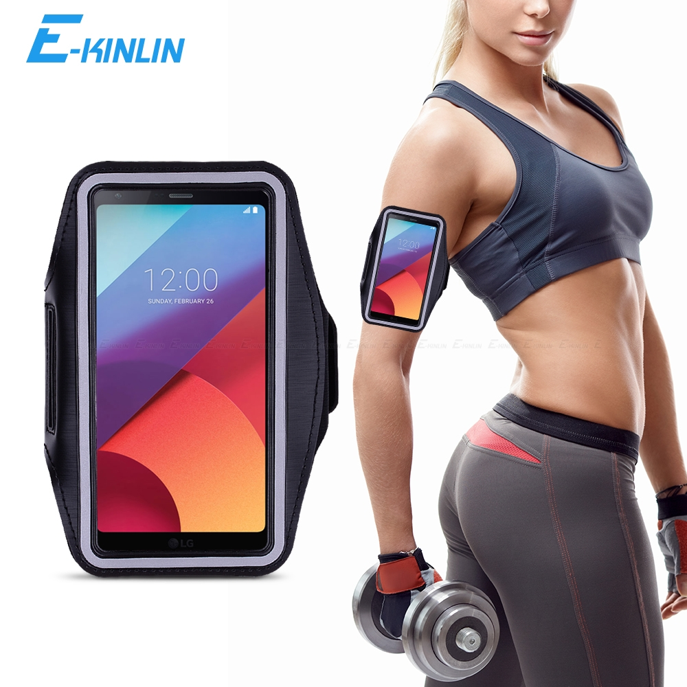 Sport Gym Running Workout Case Pouch Arm Band For LG G6 G7 Plus ThinQ Thin Q G5