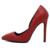 2016 Otoño Nueva Conciso Tacones Altos Elegantes Zapatos de Punta estrecha Oficina de Señora Women Solid Diseño Especial OL Bombea los zapatos de Boda de piel de Serpiente