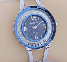 Venta caliente Marca Moda Xinhua Reloj Del Brazalete Del Cuarzo Mujeres se Visten de Moda Wristwaches Mejor Regalo Relojes Mujer Pulsera
