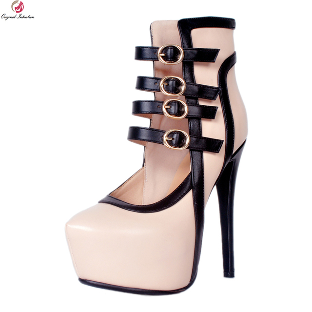 1a151bd83bf3 Original Intention Super Sexy Women Sandals Gorgeous Round Toe Thin High  Heels Sandals Light Pink Shoes Woman Plus US Size 4-20