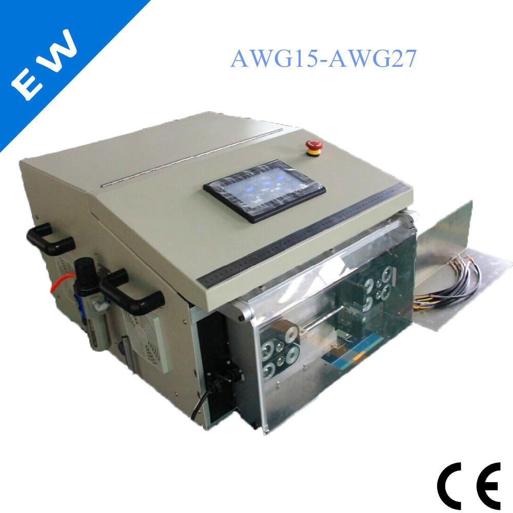 EW 05F Elektrische netzkabel abisoliermaschine, abisolieren maschine ...