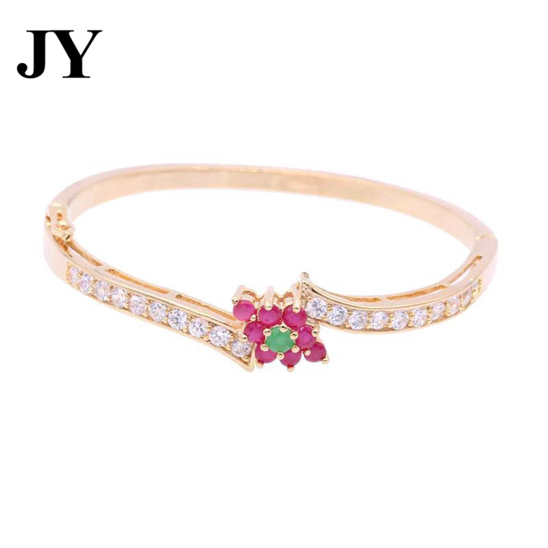 JY Fashion Gold Color Party Bracelet For Women Best Love Gift For Friend Charm Vintage Jewlery