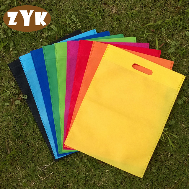 Aliexpress.com : Buy 30*40 Non woven fabric Shopping Bag Foldable ...