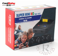 CAN use game card SUPER mini 16 bit MD16 SG 107 AV out family games TV video game console free 16 BIT 167 sega games