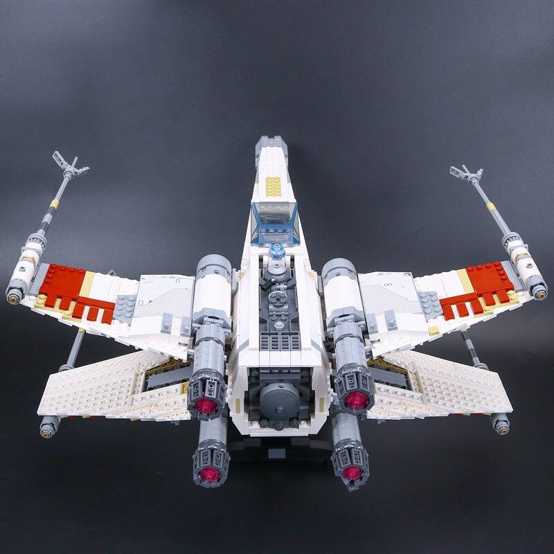 LEPIN 05039 Cool Modèle 1586 pièces ÉTOILE Rouge Cinq X Starfighter aile blocs de construction Briques jouet Compatible 10240 pour Garçon cadeaux GUERRES - 5