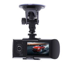 VODOOL 2,7 zoll Auto DVR HD 1080 P Kamera Doppellinse Dashcam Video Registrator Recorder g-sensor Nachtsicht unterstützung GPS