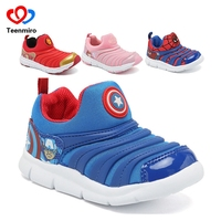 2019 New Children's Sneakers for Boys Spiderman Shoes Sport Kids Shoes for Girls Sofia Trainers Baby Soft Sneakers Child Breath