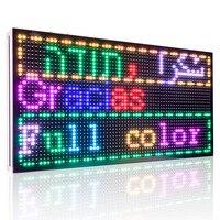 P10 Tam Renkli SMD 32*64 piksel LED Ekran kurulu/dijital yazı dükkanı Reklam işareti AÇTı