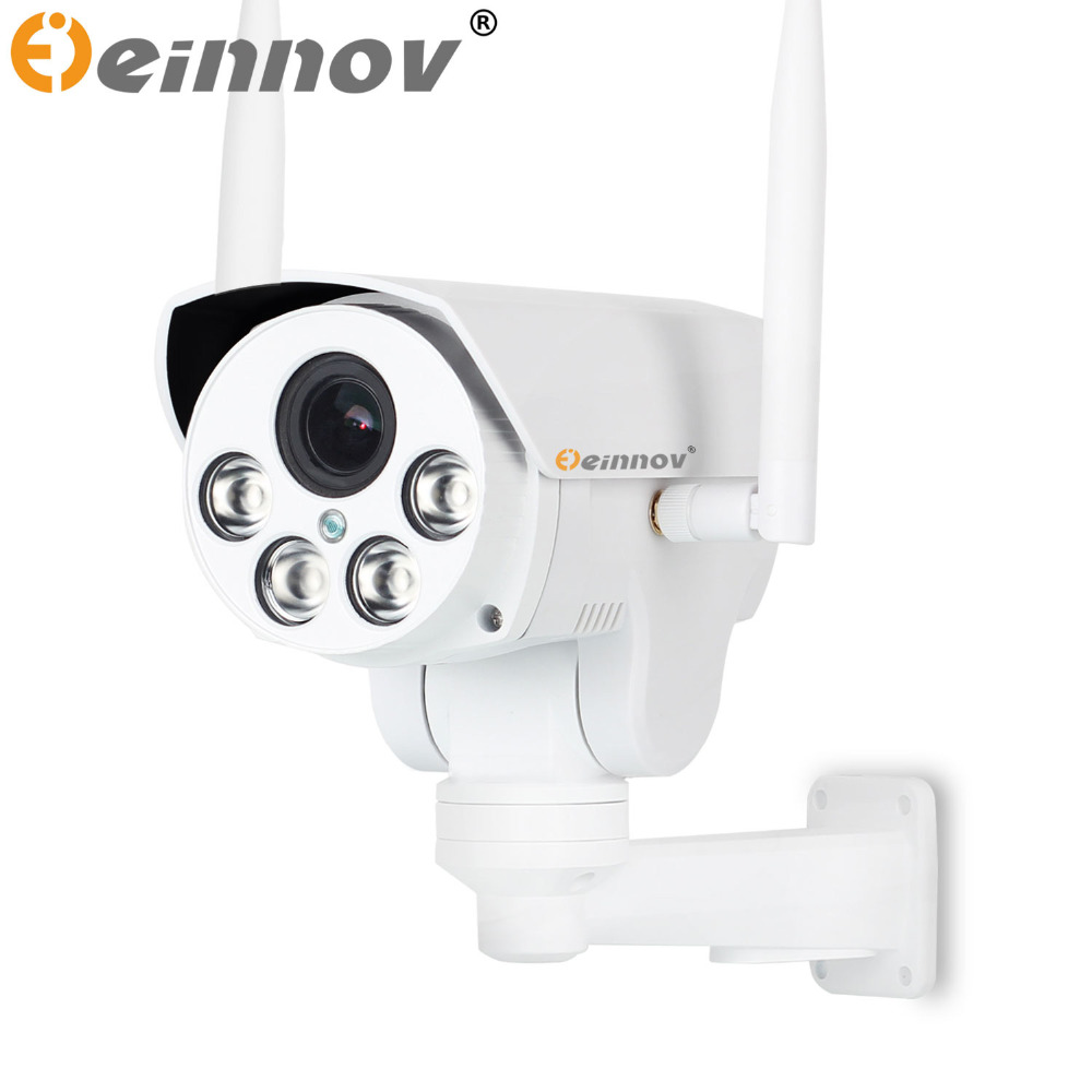 EINNOV 1080P 2MP 4G 3G PTZ IP camera 4X zoom CCTV Video ...