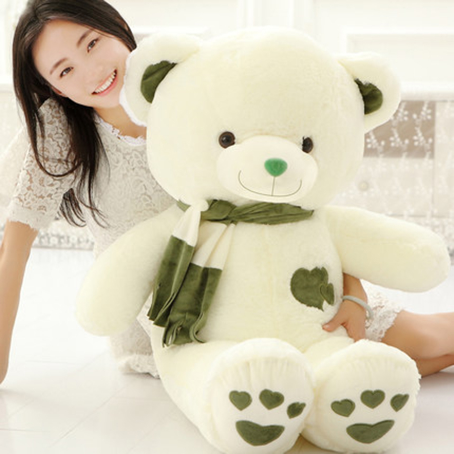 Cute Animal Soft Stuffed Plush Toys Teddy Bear Plush Toys Stuffed Toy Birthday Gifts Peluches De Animales For Children 70C0047 fancytrader big giant plush bear 160cm soft cotton stuffed teddy bears toys best gifts for children