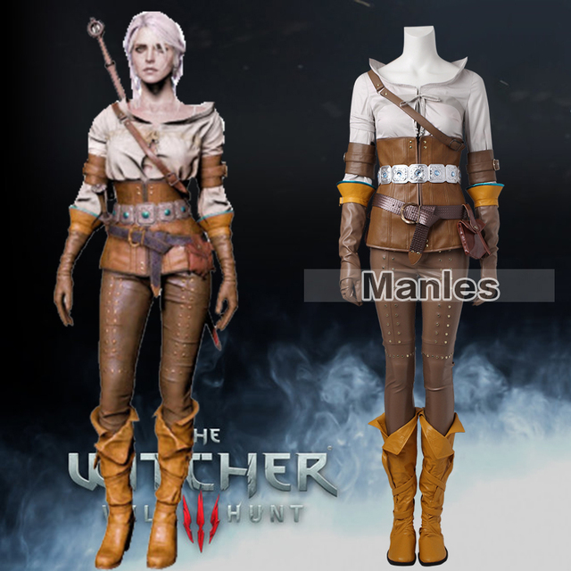 Witcher Series Costumes & High Quality The Witcher 3 Wild