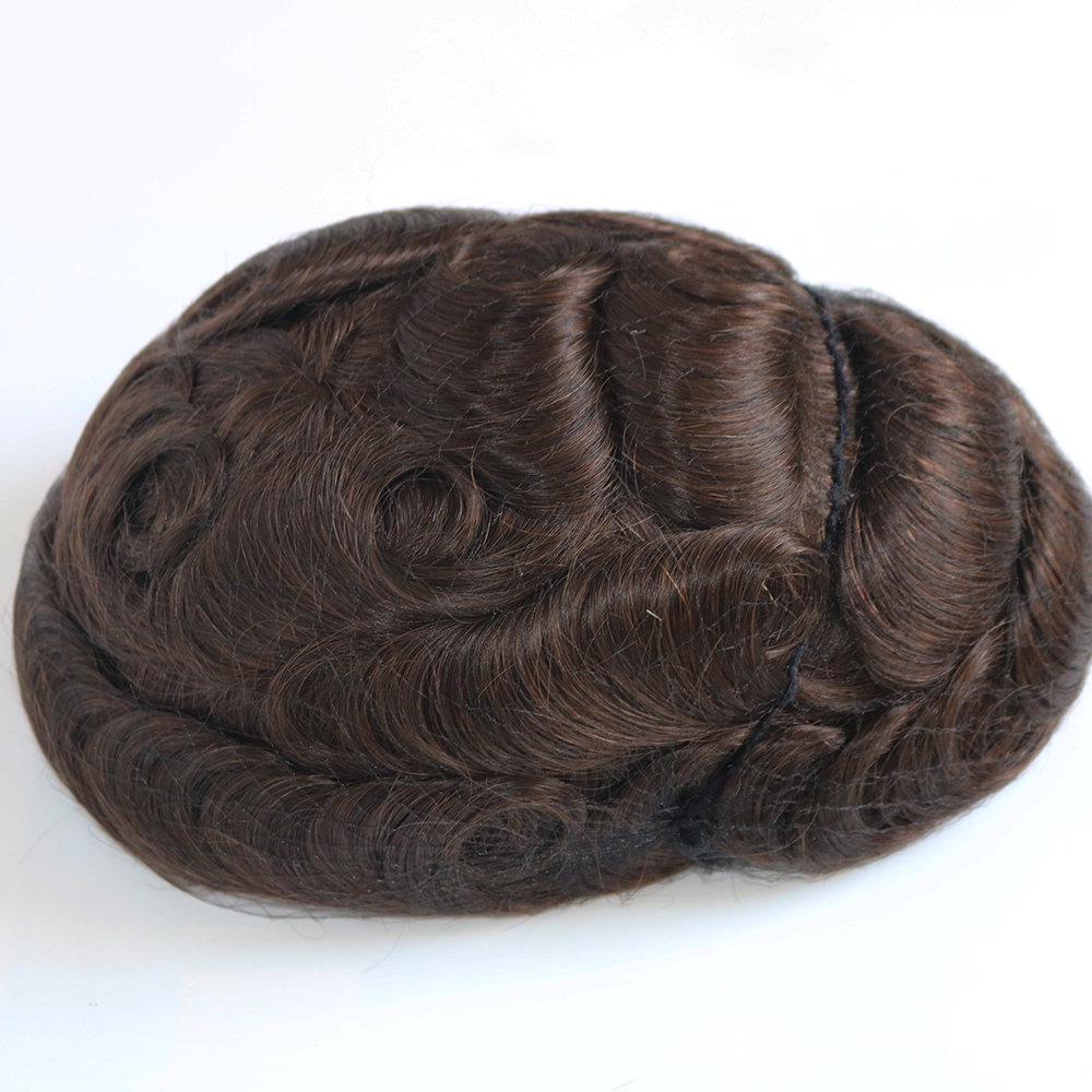 dark brown hair toupee