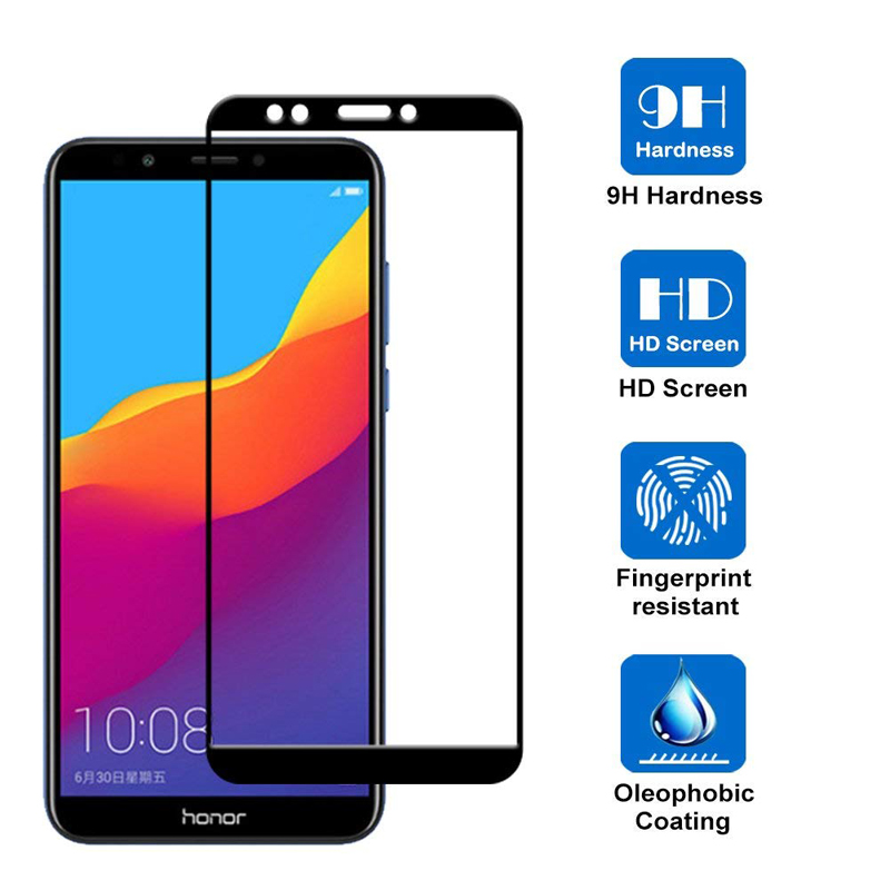Image 2 - Protective Tempered Glass on the For huawei Honor 7A Pro 7X 7C honor7a honor7c Hono 7 A C X A7 C7 X7 Glass screen protector Film-in Phone Screen Protectors from Cellphones & Telecommunications