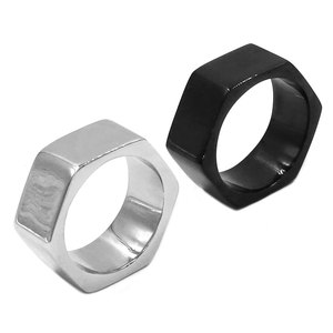 Screw Band Biker Ring Stainles
